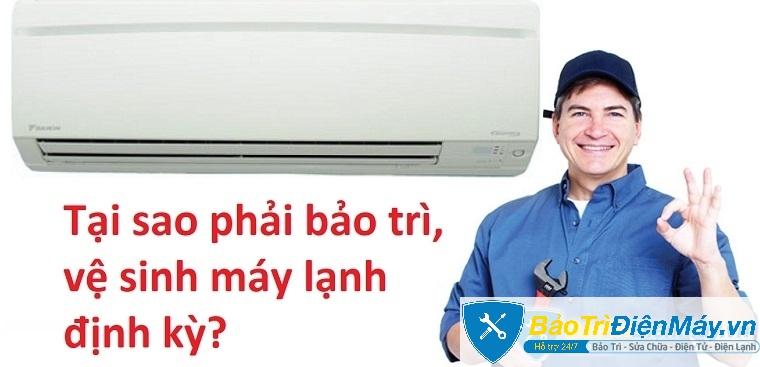 Những lợi ích nên bảo trì vệ sinh máy lạnh đúng định kỳ