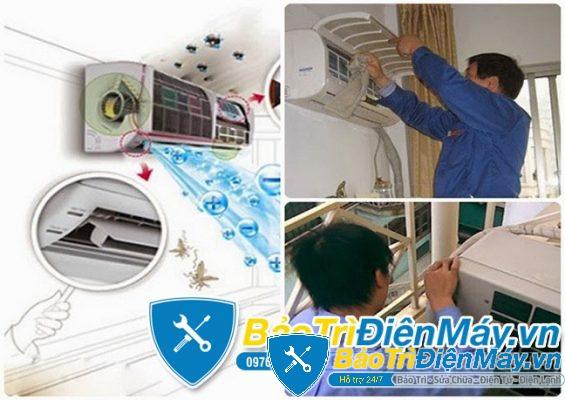 Sửa máy lạnh quận Bình Chánh HCM giá tốt nhất