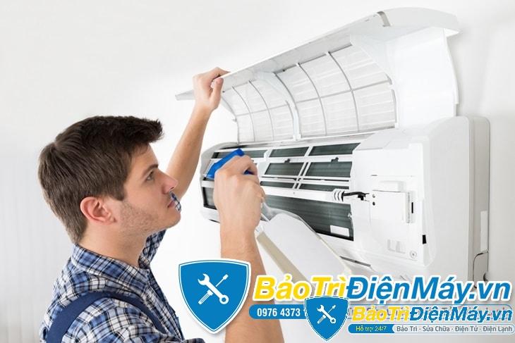 Sửa máy lạnh giá rẻ quận Bình Thạnh