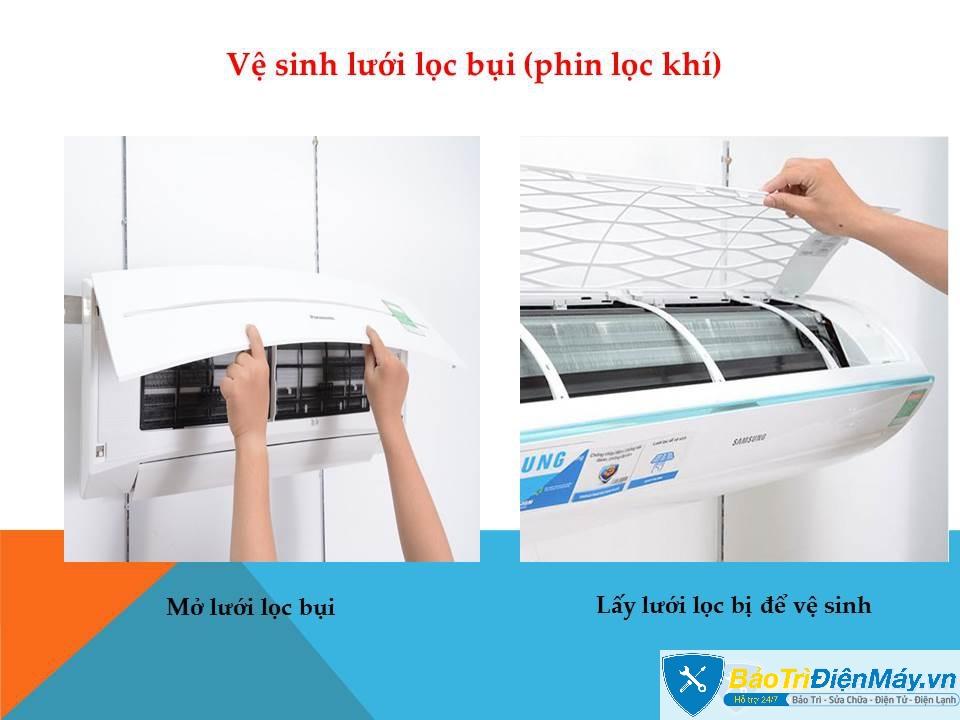 vệ sinh máy lạnh tại quận 2