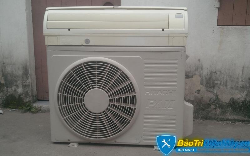 Kết quả hình ảnh cho Máy lạnh Hitachi cũ